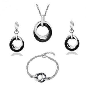 Ensemble de bijoux 3 pièces pour femme