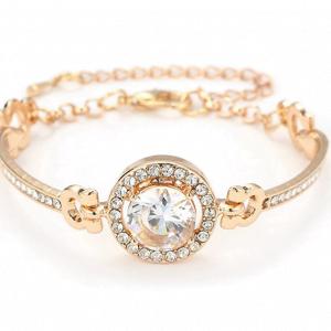 Bracelet en oxydes de zirconium pour femme