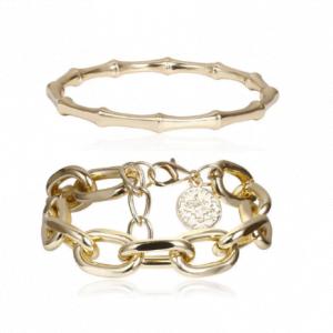 Bracelet 2 pièces pour femme