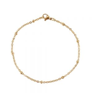 Bracelet chaîne acier inoxydable femme