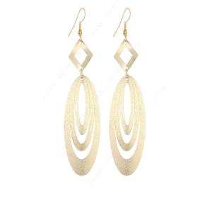Boucles d'oreilles géométriques pendantes