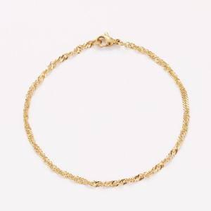 Bracelets chaîne acier inoxydable pour femme