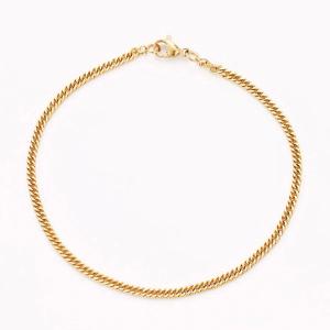 Bracelet fin en acier inoxydable pour femme